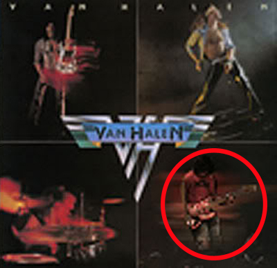 Van Halen Album Cover Michael Anthony Replaced Removed Wolfgang