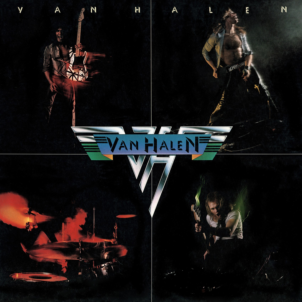 Van Halen Van Halen I Album Cover Michael Anthony Removed