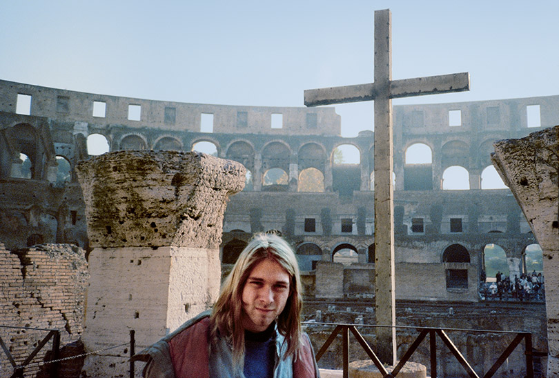 Kurt Cobain Religion Europe Ruins Jesus Cross Nirvana