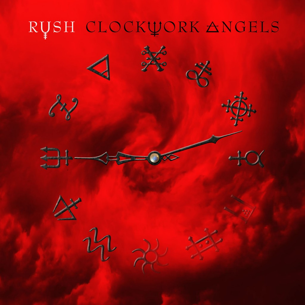 Rush Clockwork Angels 2112 Album Cover Time