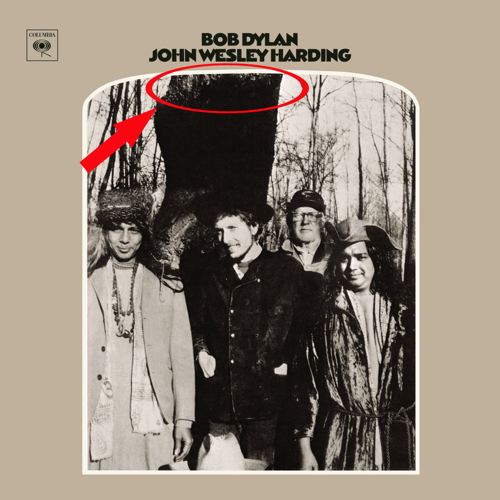 Bob Dylan John Wesley Harding The Beatles Faces Tree
