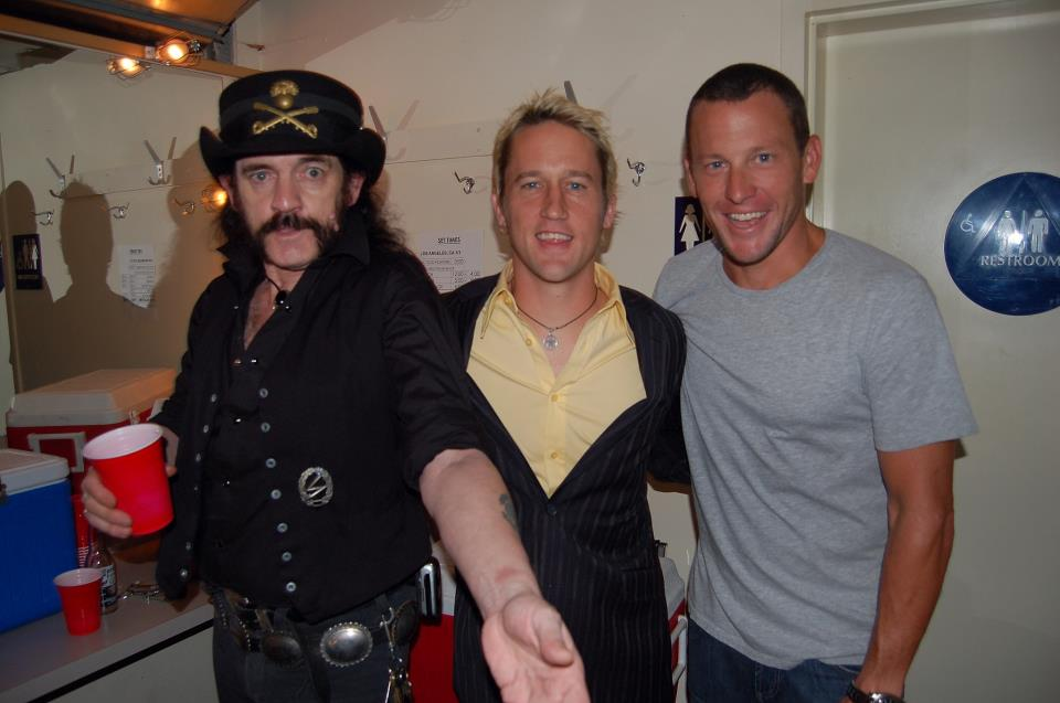 Lemmy Chris Shiflett Shifty Lance Armstrong Foo Fighters 2006 Pantages