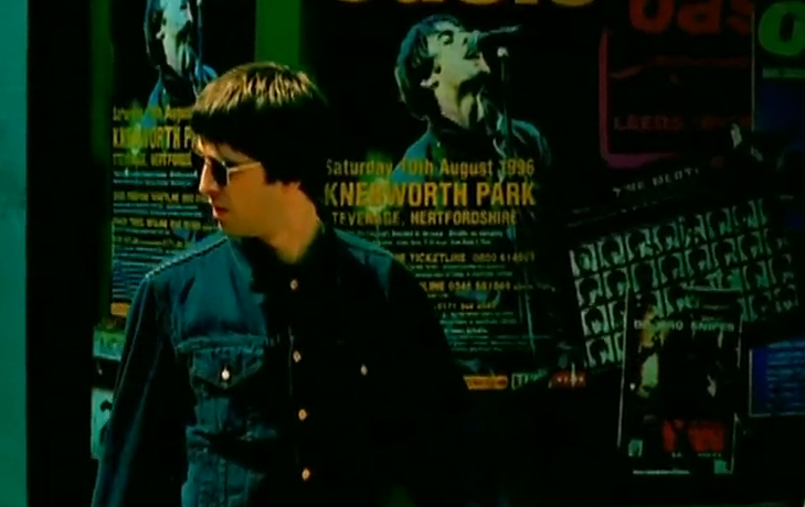 Oasis Knebworth Poster Stand By Me Video The Beatles A Hard Days Night