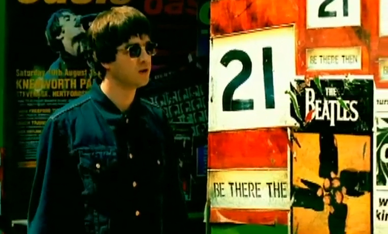 Oasis Stand By Me Video The Beatles Poster