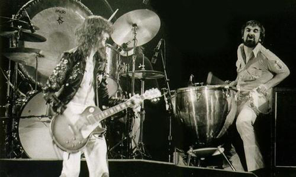Led Zeppelin Live With Keith Moon The Who