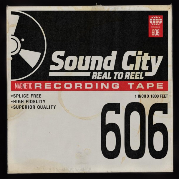 Sound City Soundtrack Album Cover Scotch Magnetic Tape Artwork