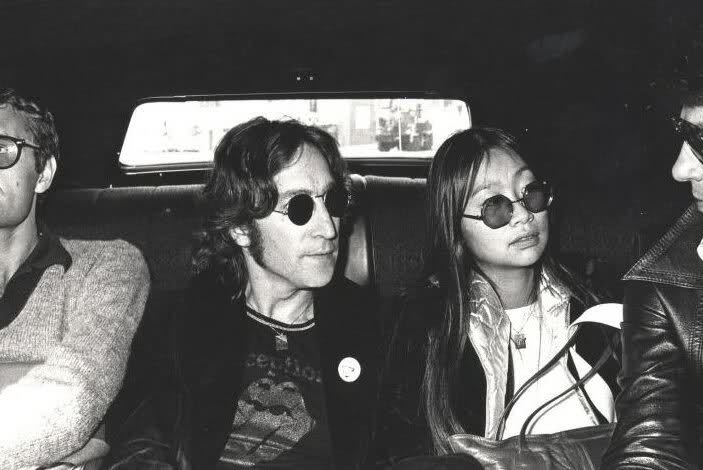 John Lennon Wearing Rolling Stones Tongue Shirt Feelnumb