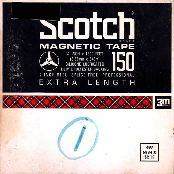 Sound City Soundtrack Album Cover Scotch Magnetic Tape