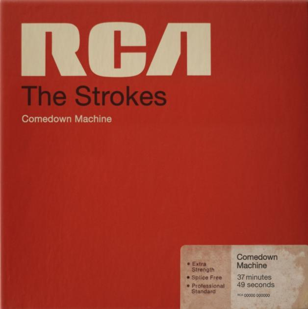 The Strokes Comedown Machine Artwork RCA Magnetic Tape