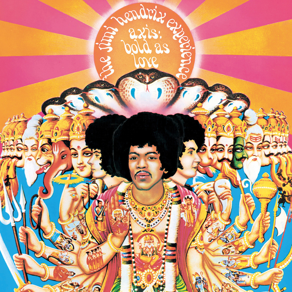 Jimi Hendrix Blod As Love Album Cover Artwork