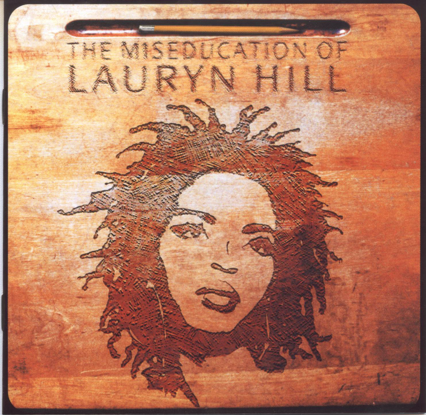 Lauryn Hill The Miseducation of lauryn hill bob marley burnin album cover