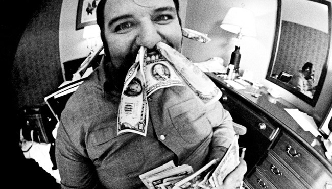 Peter Grant Led Zeppelin Manager Money