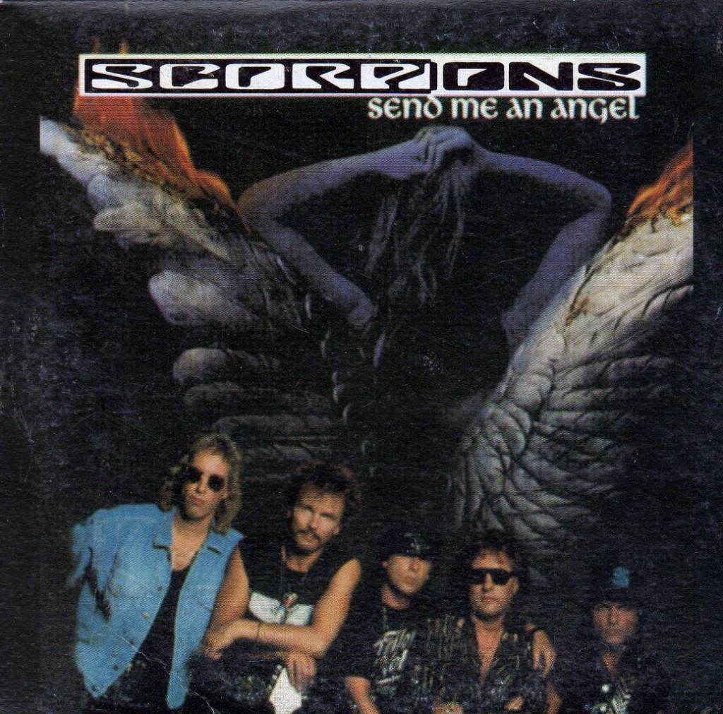 Scorpions Send Me An Angel Artwork Black Sabbath Cross Purposes Album Cover