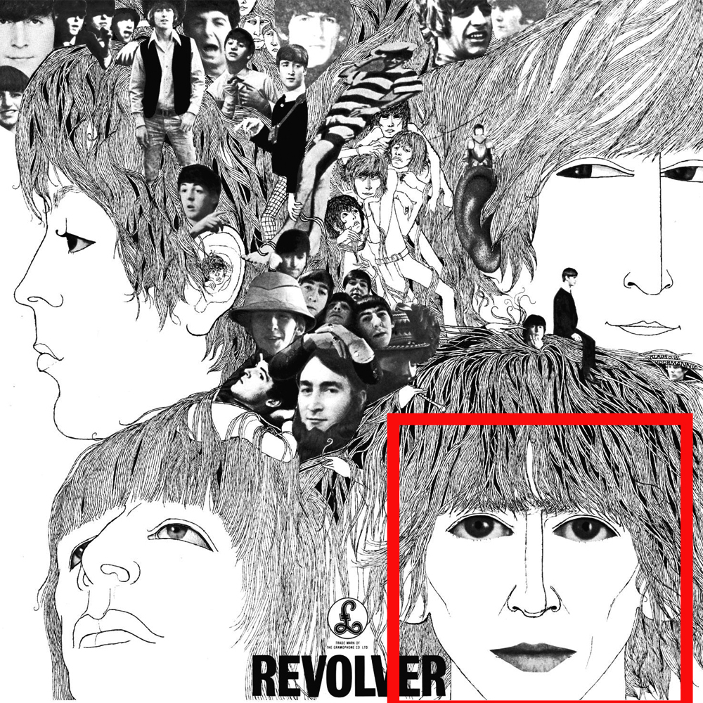 The Beatles Revolver Album Cover When We Was Fab Single George Harrison