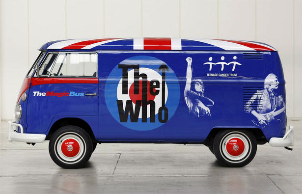 The Who Magic Bus Volkswagen Bus Roger Daltrey