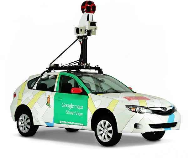 Google Street View Car feelnumb.com Rock Stars Caught