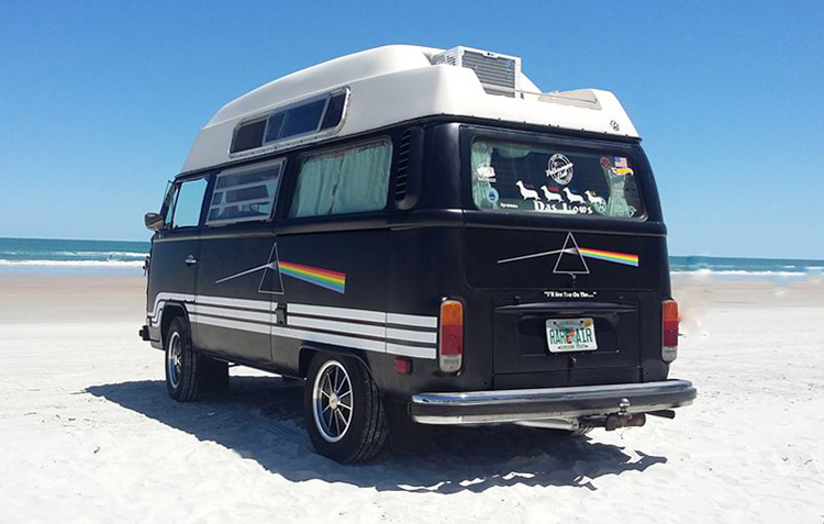 Pink Floyd Dark Side Of The Moon Volkswagen VW Bus