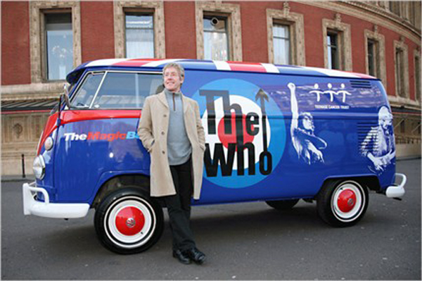 Roger Daltrey The Who VW Magic Bus Volkswagen