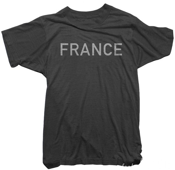 George Harrison Worn Free France Tee Shirt The Beatles feelnumb.com