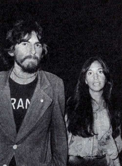 George Harrison Wife Olivia France Shirt