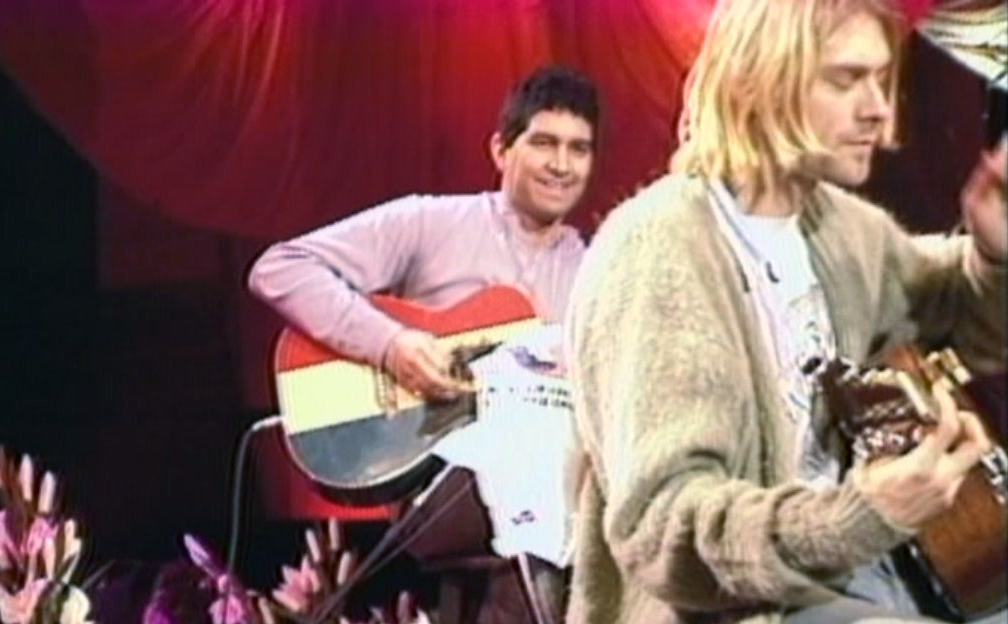 Pat Smear Nirvana MTV Unplugged Acoustic Guitar Kurt Cobain