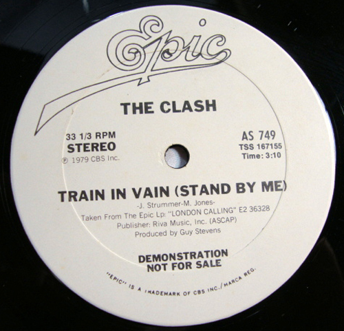 the clash train in vain stand by me single