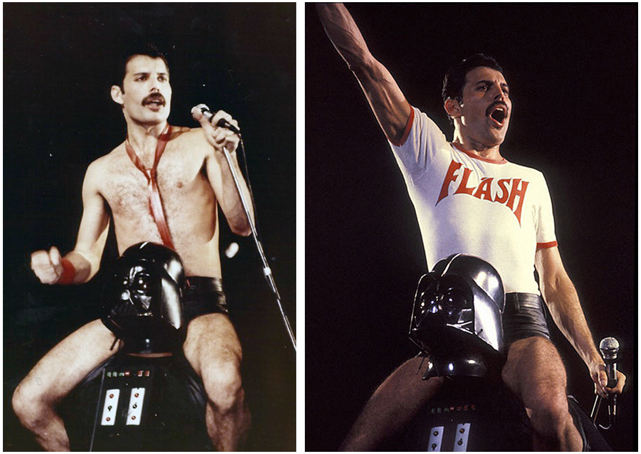 Freddie Mercury Queen Darth Vader Star Wars