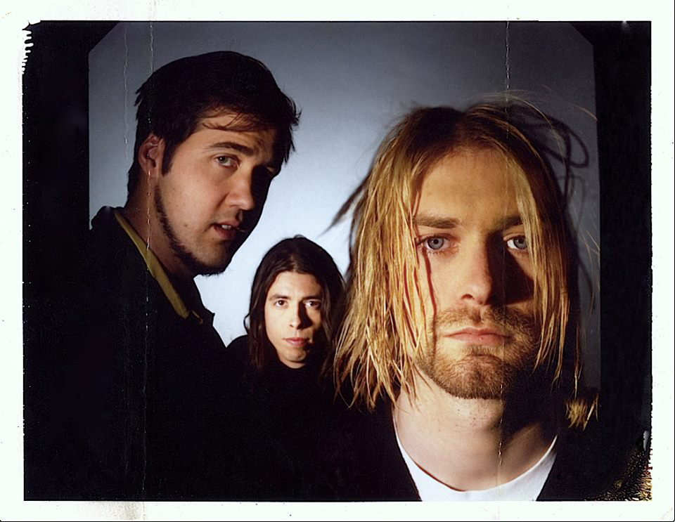 Nirvana Spin Magazine Polaroid Cover Shoot 1993 Mark Blackwell Kurt Cobain SPIN Magazine Test Photo