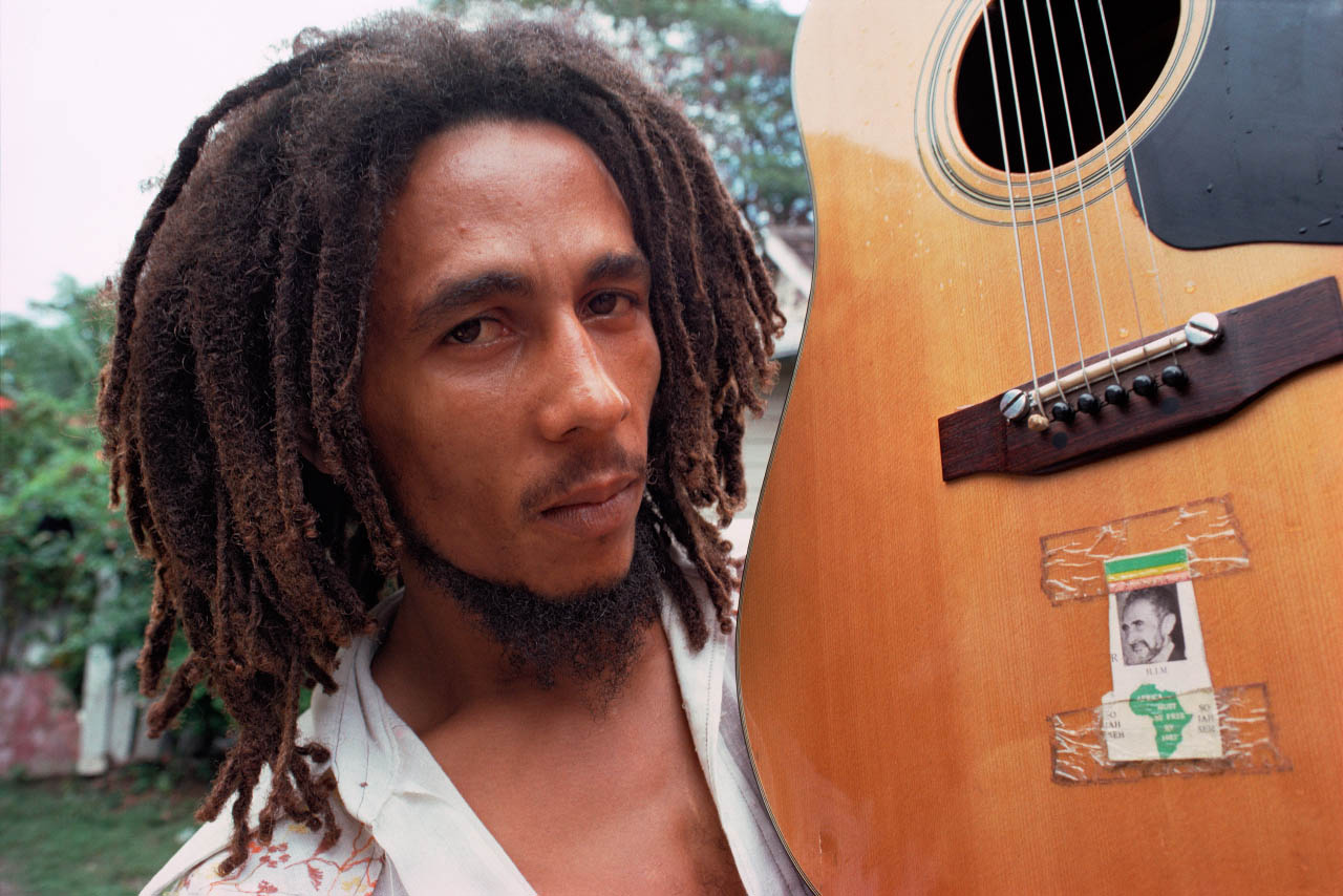 Bob Marley Africa Must Be Free By 1983 So Jah Seh Acoustic Guitar 1976 Jamaica