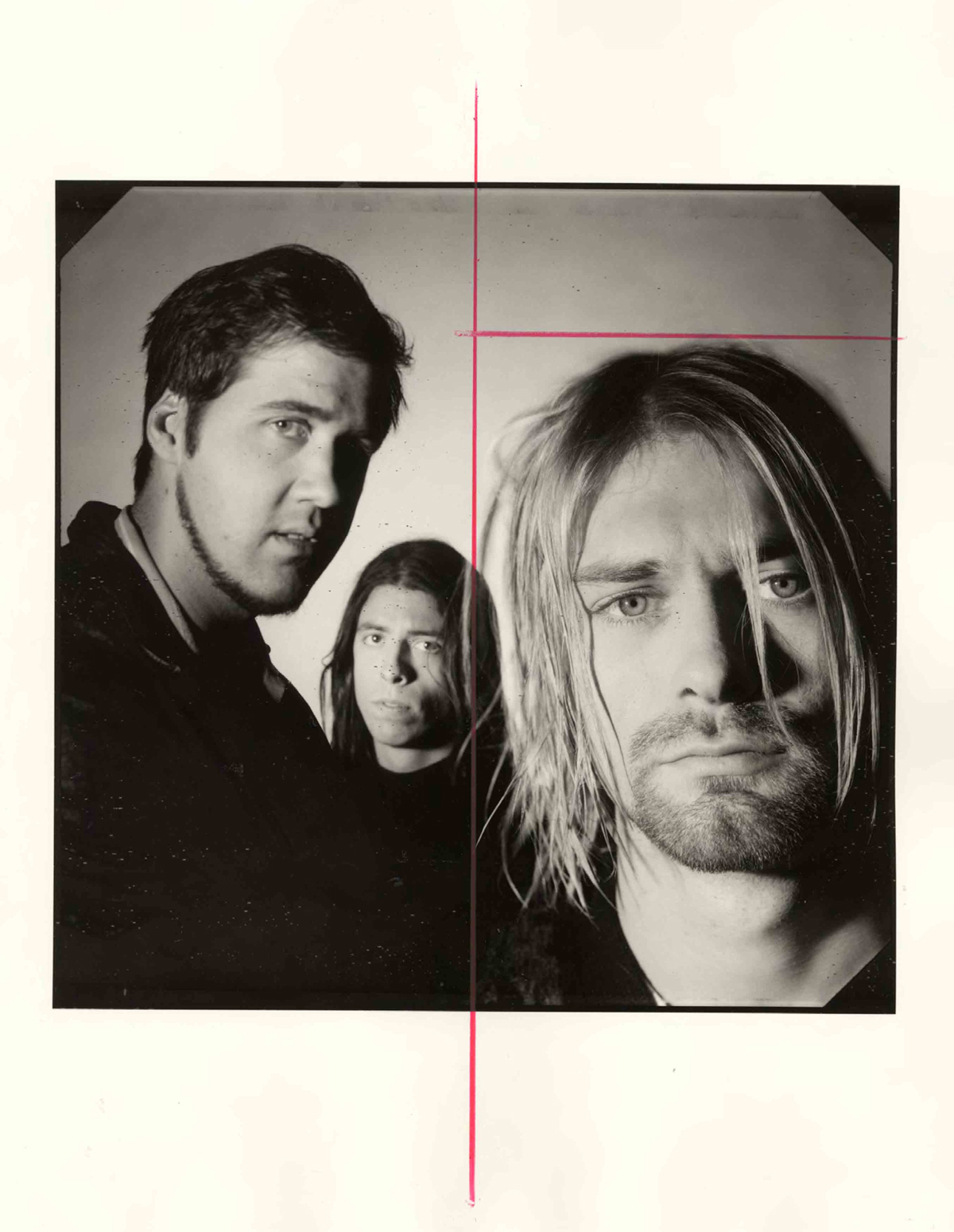 Nirvana Kurt Cobain Spin Magazine 1993 photo shoot