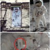 Led Zeppelin Physical Graffiti Album Cover Neil Armstrong Buzz Aldrin