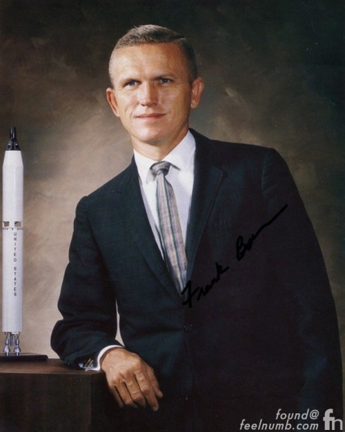 Frank Borman NASA Apollo 8 Mission Led Zeppelin II Album Cover Neil Armstrong