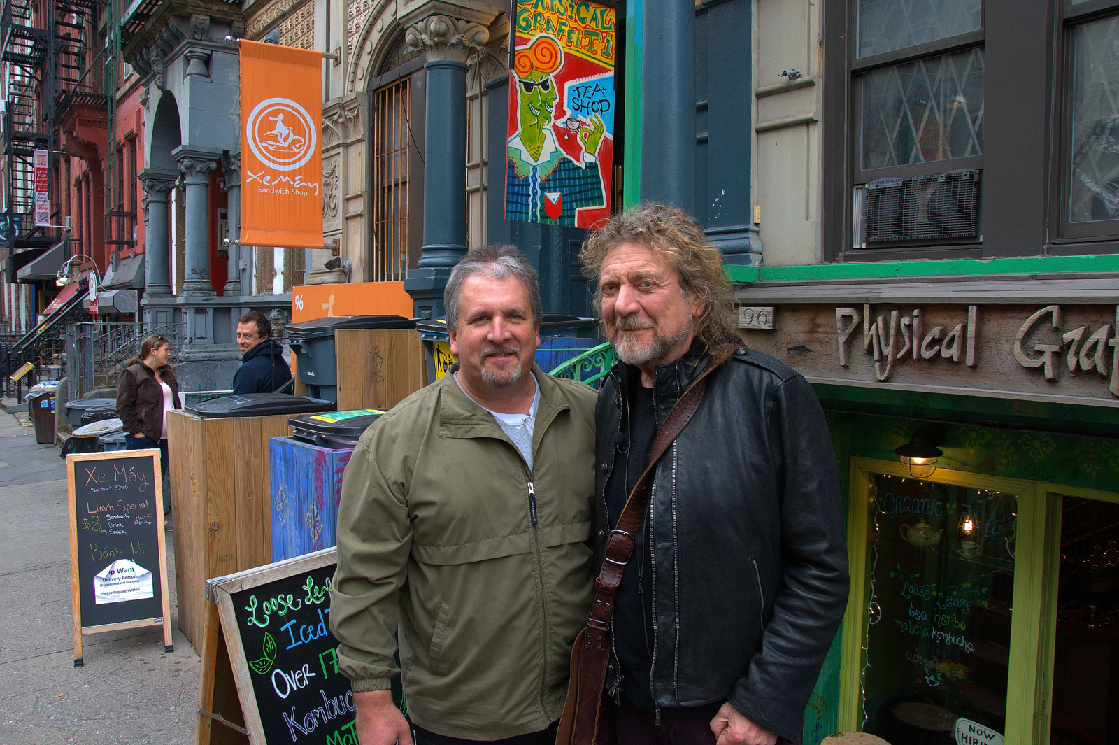 Led Zeppelin Robert Plant New York 2012 Physical Graffiti Building Location