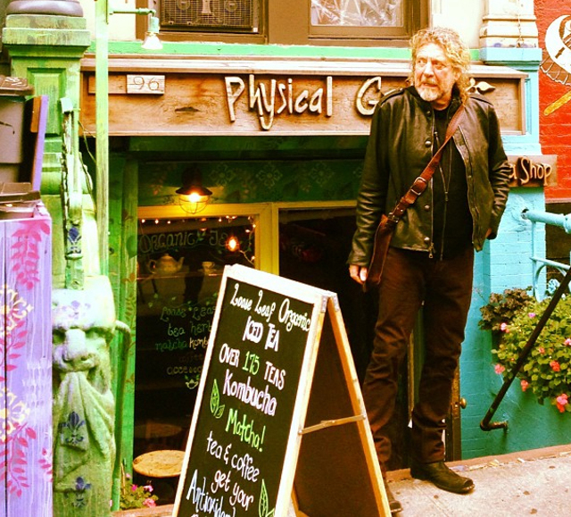 Robert Plant Physical Graffiti Graffitea St. Marks New York