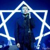 Damon Albarn Star Necklace Piano Blur Gorilaz John Dee Symbol