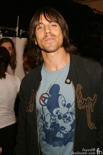 Anthony Kiedis Red Hot Chili Peppers Mickey Mouse