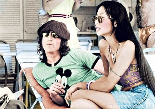 John Lennon Mickey Mouse Shirt