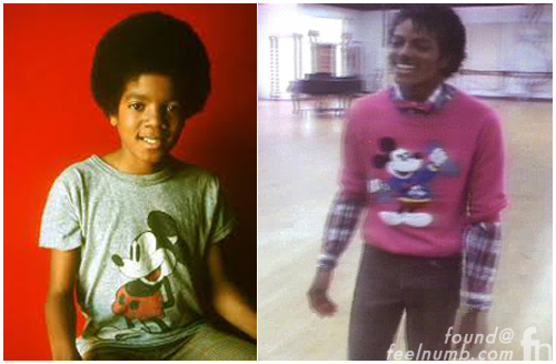 Michael Jackson Mickey Mouse Shirt