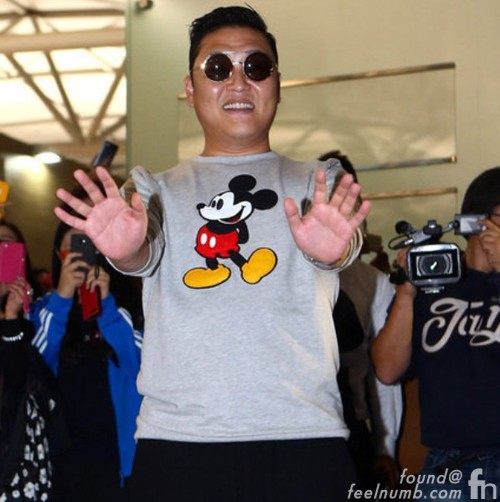 Psy Mickey Mouse Shirt