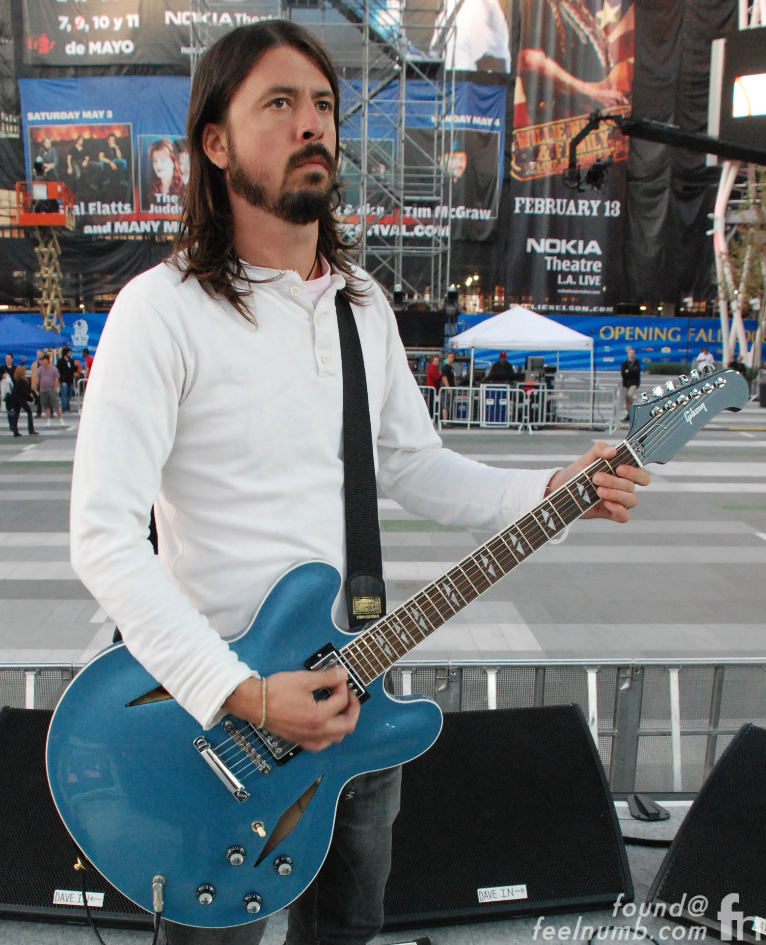 Dave Grohl's Signature Model Gibson DG-355 Guitar
