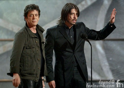 Dave Grohl Lou Reed Guitar Foo Fighters