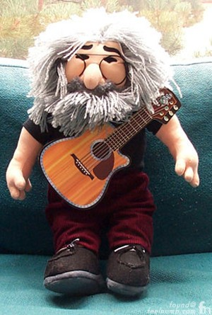 Jerry Garcia Doll Fillmore Grateful Dead