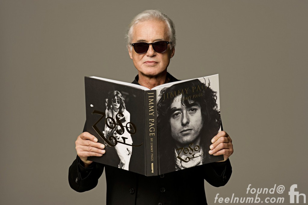 Jimmy Page by Jimmy Page Book Stamping Tour 2014