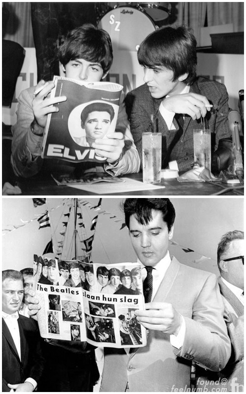 The Beatles Elvis Presley