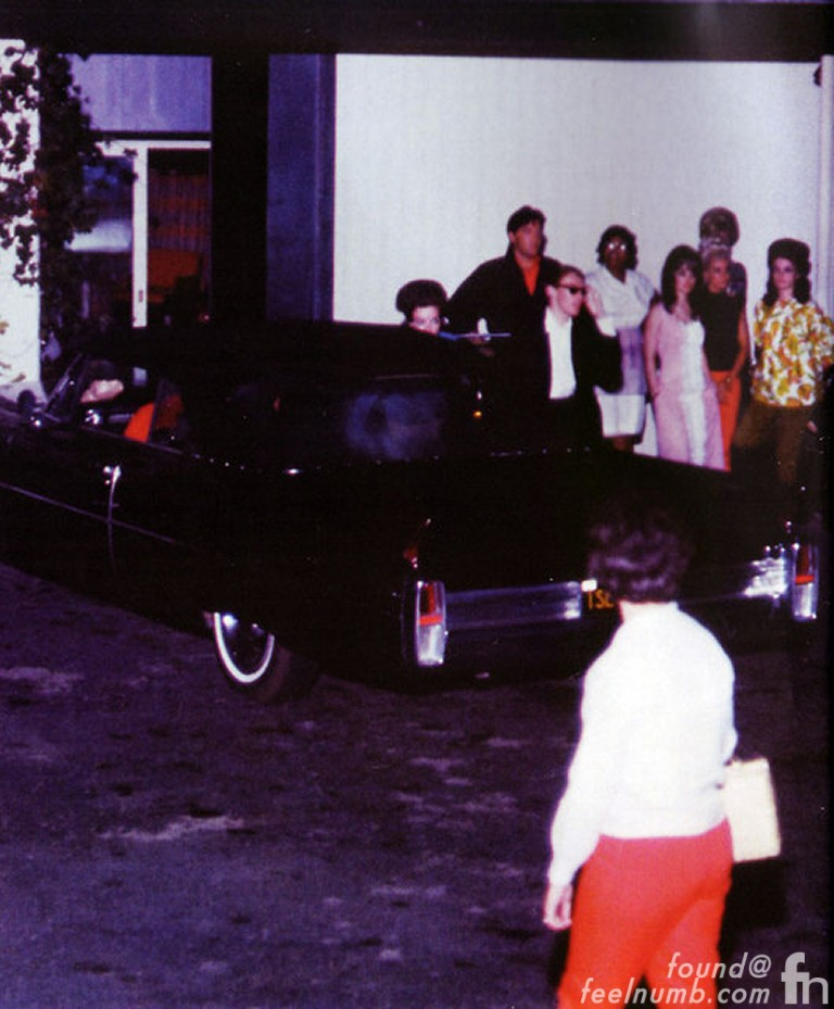 The Beatles Elvis Presley Los Angeles 1965
