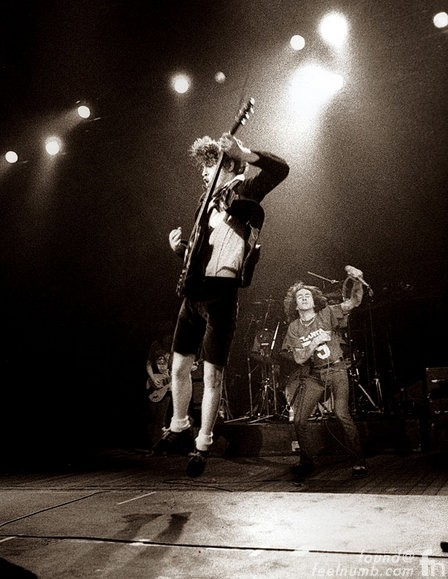 Angus Young Bon Scott Last Performance January 27, 1980