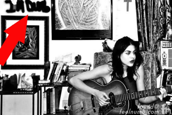 Kurt Cobain Frances Bean Cobain I'm Dumb Playing Guitar