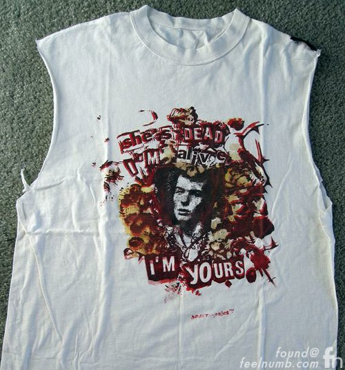 I'm Alive She's Dead I'm Yours Nancy Malcolm McClaren Sid Vicious Shirt