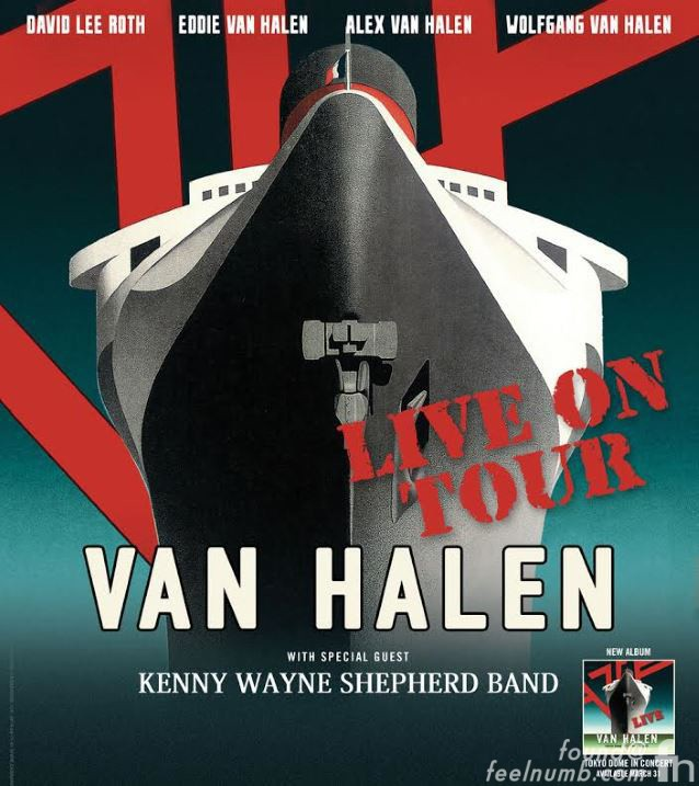 Van Halen Last Show Michael Anthony