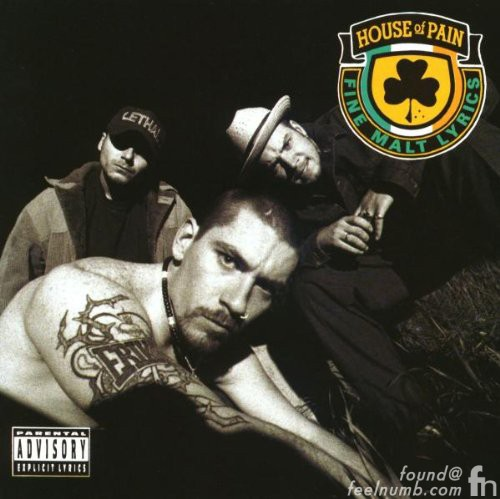 House of Pain Debut Album Cover Back Location Bar Tom Bergin Irish Pub Fairfax